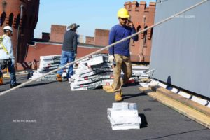 Working with a roofing contractor