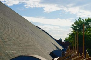 Roofers in Brooklyn during re-roofing