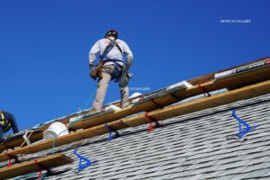 Roofers working in Brooklyn